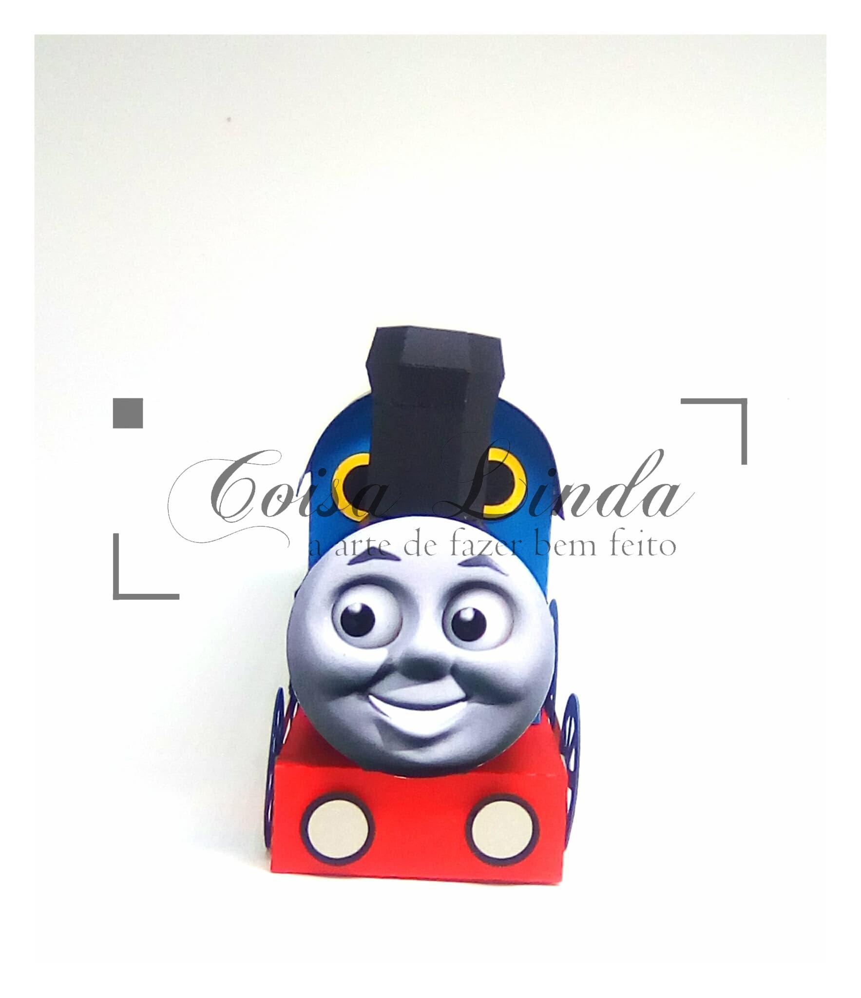 Caixa Trem Thomas
